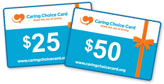 Caring Choice Gift Cards